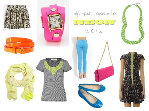 Spring 2012 Neon