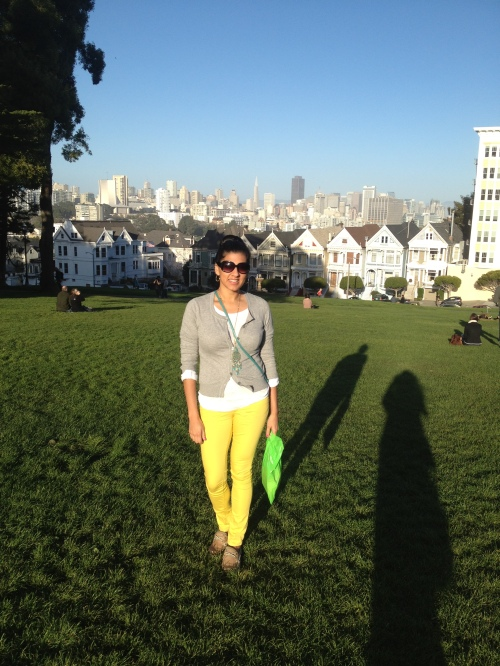 Painted Ladies, Postcard Row