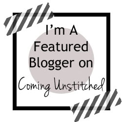 Featured Blogger on Coming Unstitched